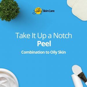 at home facial peel kit for combination and oily skin